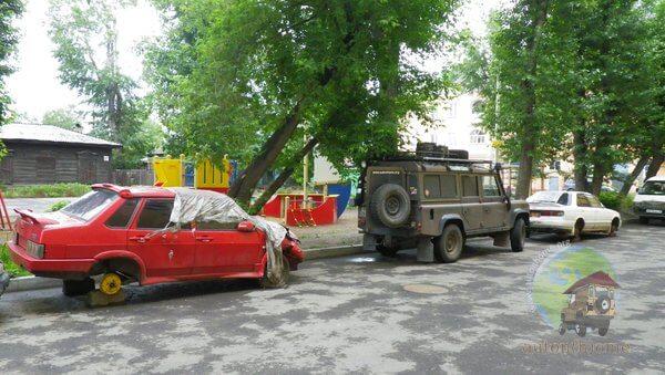Irkoutsk et ses environs…
