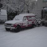 Il neige sur Paris !