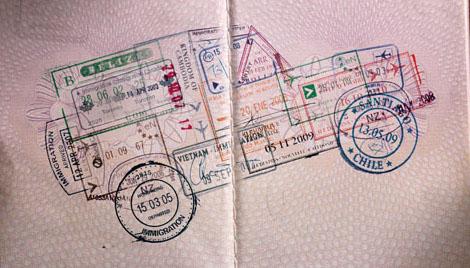 La Route de la Soie : les Visas