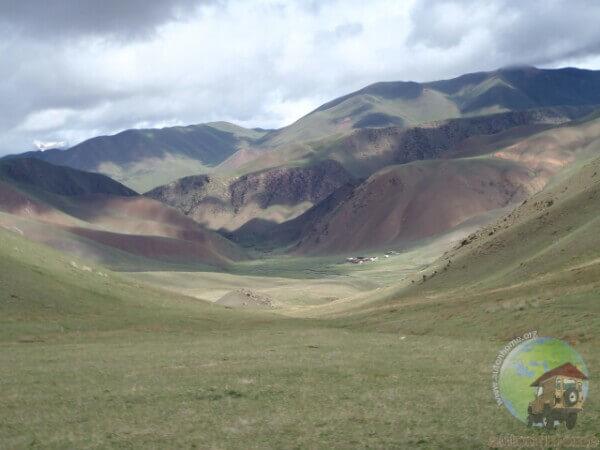 Kyrghizistan : le lac Song Kul