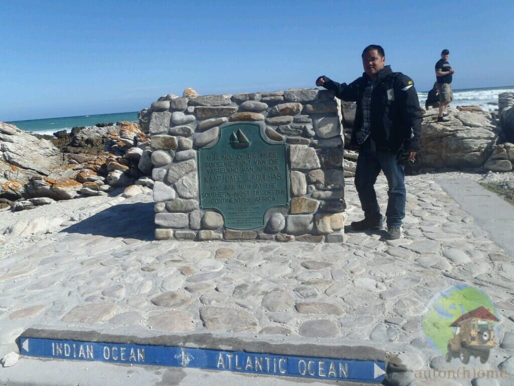 La côte sud de…l'Afrique du sud